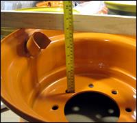 Skid Steer Wheel Offset Measure Inset Outset Tracks