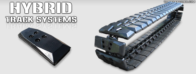 Hybrid Tracks Replacement Pads