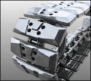 Hybrid Tracks Rubber Steel