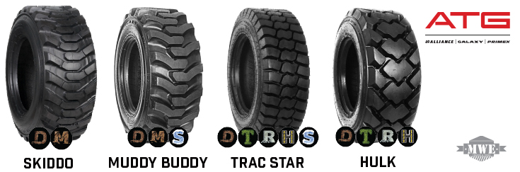 Bobcat 1213 12 16 5 Replacement Solid And Air Filled Tires