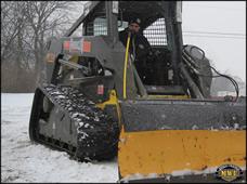 Bridgestone PolarTread Tracks With Plow
