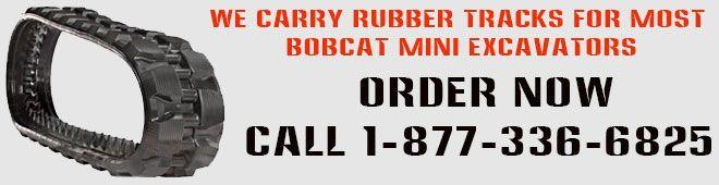 Bobcat Mini Excavator Rubber Tracks