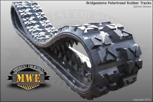 Bridgestone PolarTread Rubber Track