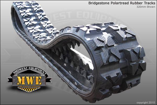 All Weather Tires >> Bridgestone Polar Tread   All Weather Rubber Tracks   Tracks and Tires