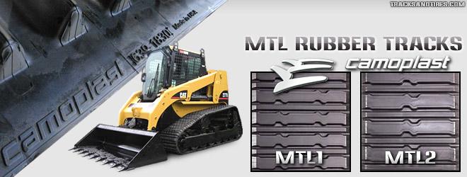 CAT MTL Rubber Tracks