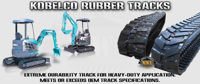 Kobelco Mini Excavator Rubber Tracks