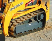Mustang Rubber Tracks Undercarriage