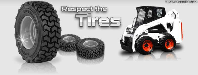 Skid Steer Tire Maintenance