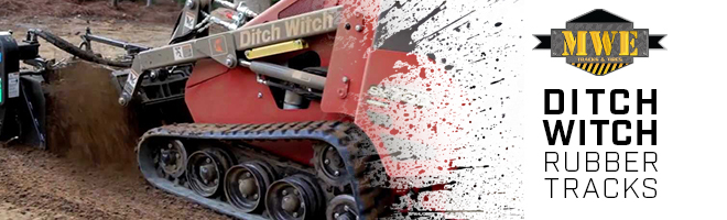Ditch Witch CTL & Excavator Rubber Tracks