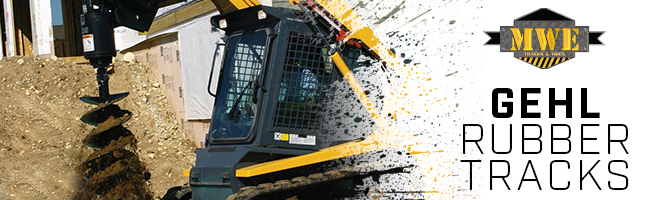 Gehl Rubber Tracks | Excavators, Compact Track Loaders