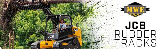 JCB Track Loader Excavator Rubber Tracks