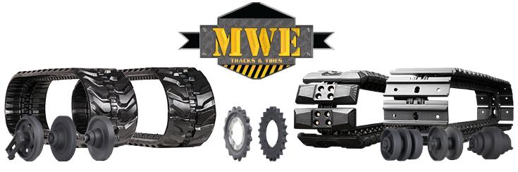 Mini Excavator Tracks | Bridgestone, Camso, and MWE | Tracks